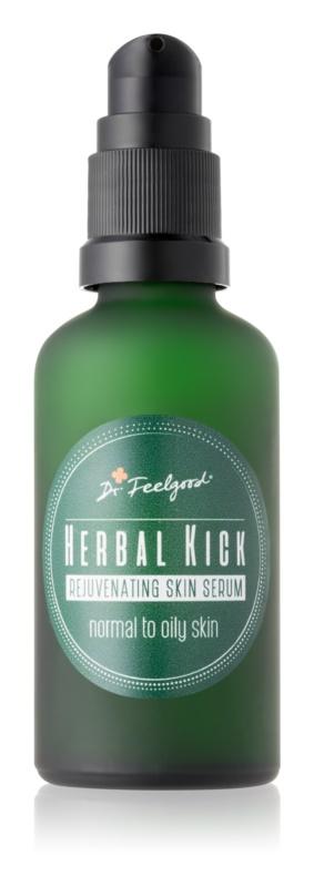 Dr. Feelgood Herbal Kick bi-phase verjongend serum voor Normale tot Vette Huid