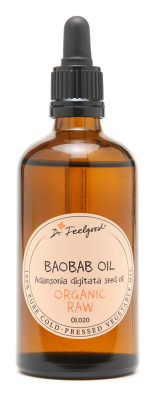 Dr. Feelgood BIO and RAW baobabový olej pro velmi suchou pleť