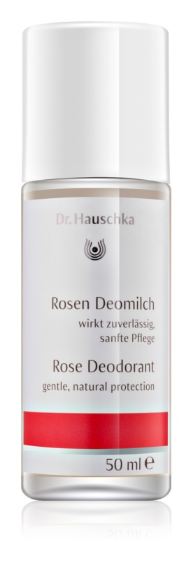 Dr. Hauschka Body Care Deodorant cu esenta de trandafir roll-on