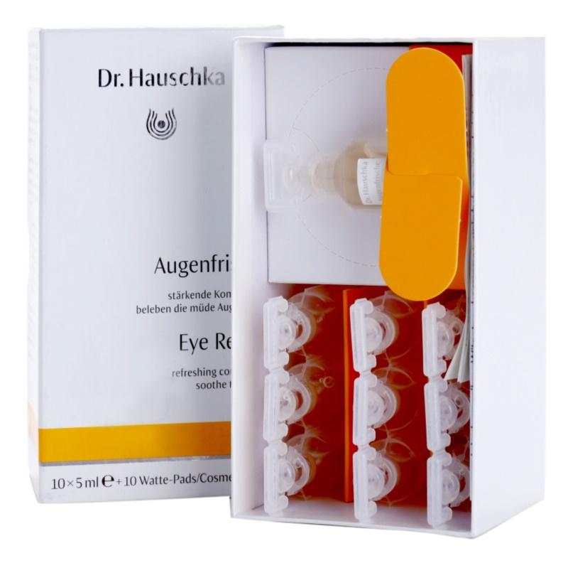 Dr. Hauschka Eye And Lip Care compressas refrescantes para olhos cansados