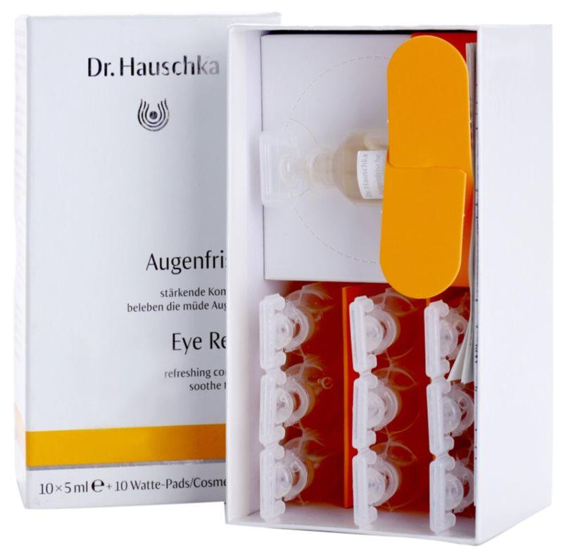 Dr. Hauschka Eye And Lip Care erfrischende Umschläge für müde Augen