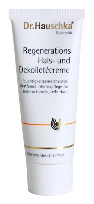 Dr. Hauschka Facial Care regenerační krém na krk a dekolt