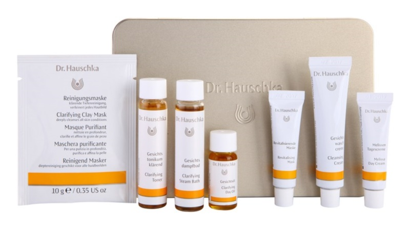 dr hauschka facial care kosmetik set iii. Black Bedroom Furniture Sets. Home Design Ideas