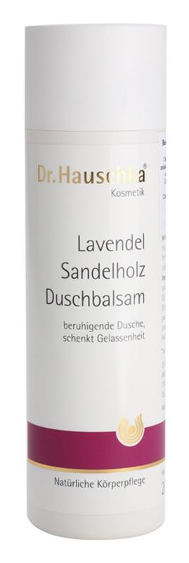 Dr. Hauschka Shower And Bath bálsamo de ducha  con lavanda y madera de sándalo