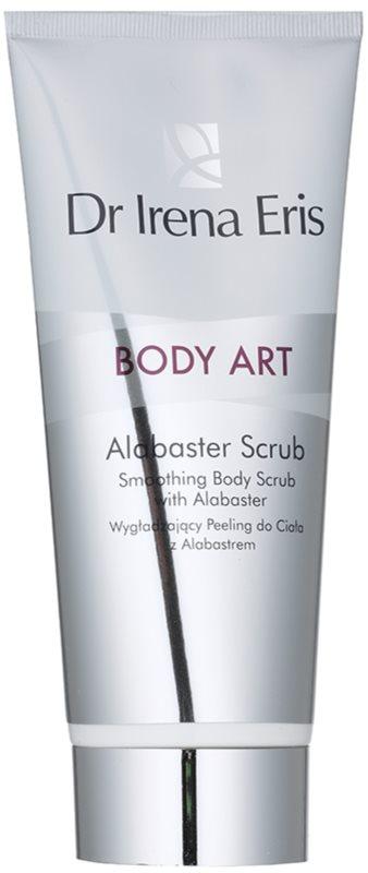 Dr Irena Eris Body Art Alabaster Scrub exfoliant de corp cu alabastru pentru netezirea pielii