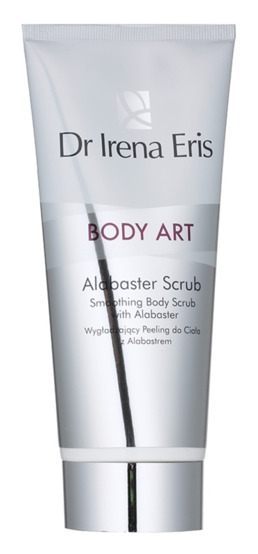 Dr Irena Eris Body Art Alabaster Scrub розгладжуючий пілінг для тіла з алебастром
