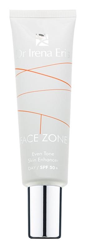 Dr Irena Eris Face Zone тонуючий крем проти зморшок для вирівнювання тону шкіри SPF 50+