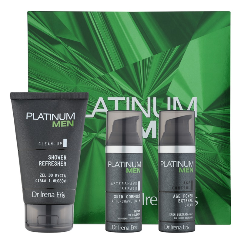 Dr Irena Eris Platinum Men Aftershave Repair Cosmetic Set I.