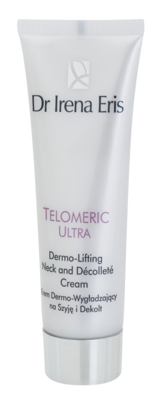 Dr Irena Eris Telomeric Ultra 70+ Lifting Cream For Neck And Décolleté