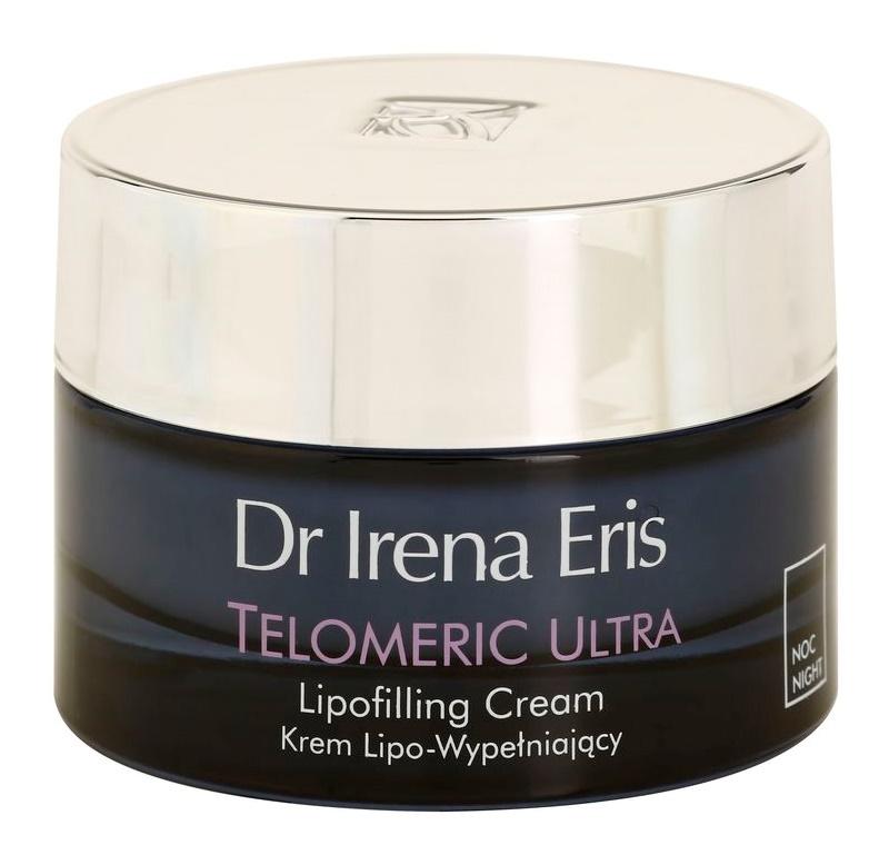 Dr Irena Eris Telomeric Ultra 70+ Nachtcremem zur Wiederherstellung der Hautdichte