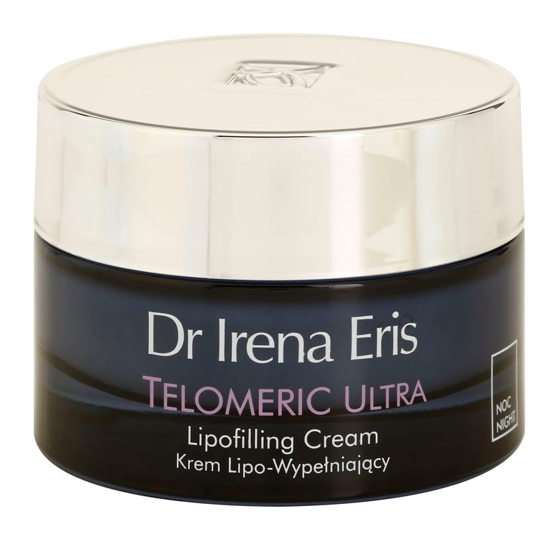 Dr Irena Eris Telomeric Ultra 70+ nočna krema za obnavljanje gostote kože