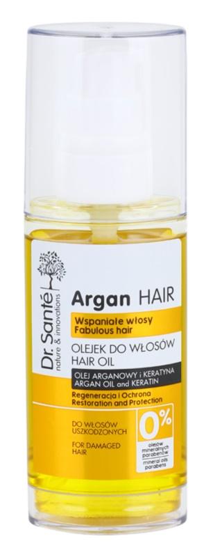 Dr. Santé Argan regeneracijski serum za poškodovane lase