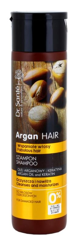 Dr. Santé Argan champô hidratante  para cabelo danificado
