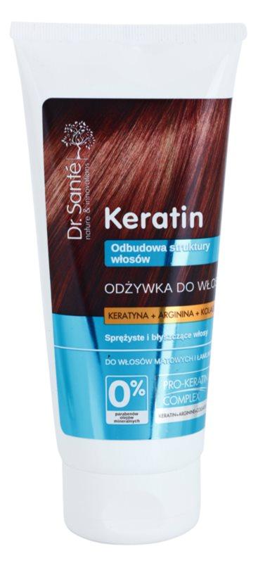 Dr. Santé Keratin відновлюючий кондиціонер для ламкого волосся без блиску