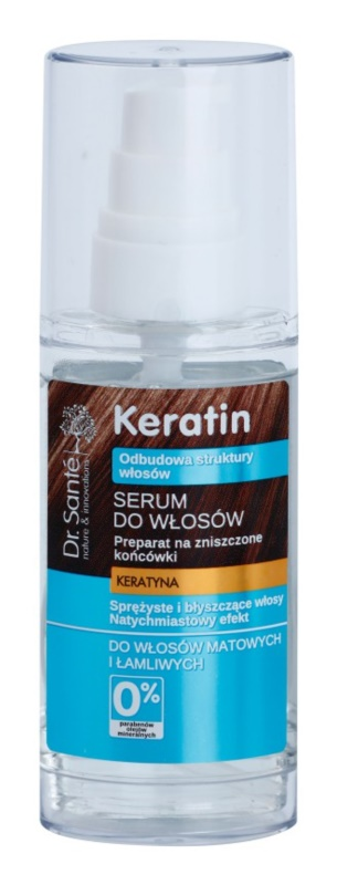 Dr. Santé Keratin regeneračné sérum na rozstrapkané končeky vlasov