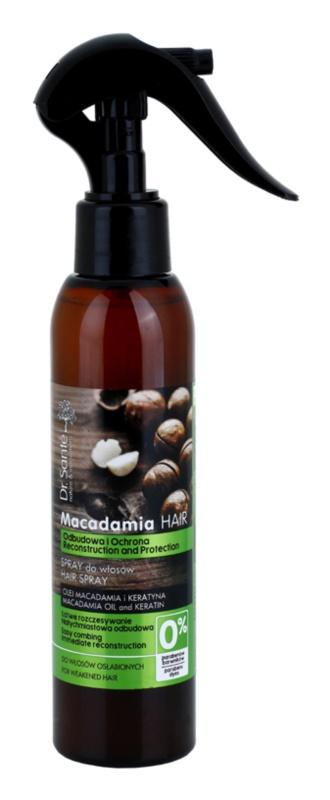 Dr. Santé Macadamia spray pentru par deteriorat