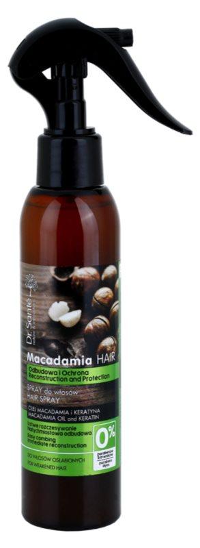 Dr. Santé Macadamia Spray  voor futloos haar