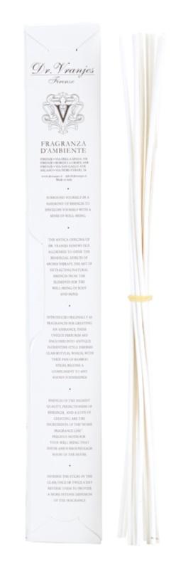 Dr. Vranjes Firenze Bamboo Bianchi aroma difuzér bez náplně 12 ks