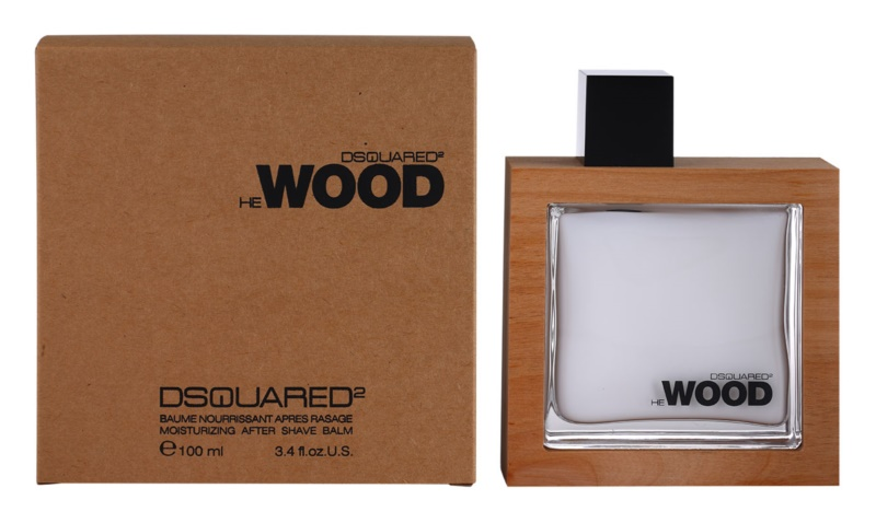 Dsquared2 He Wood After Shave Balsam für Herren 100 ml