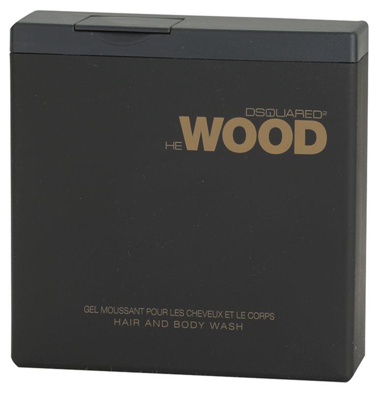 Dsquared2 He Wood sprchový gél pre mužov 200 ml