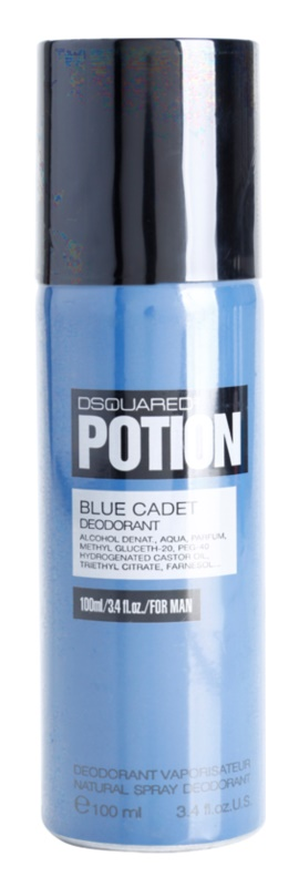 Dsquared2 Potion Blue Cadet Deo Spray voor Mannen 100 ml