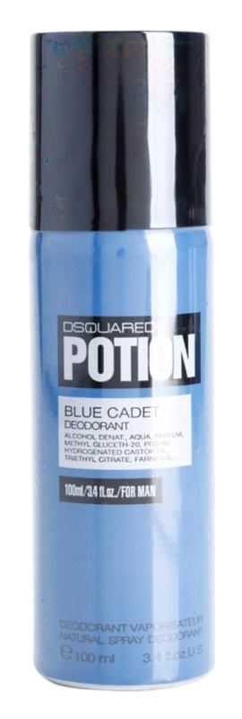 Dsquared2 Potion Blue Cadet deospray pre mužov 100 ml