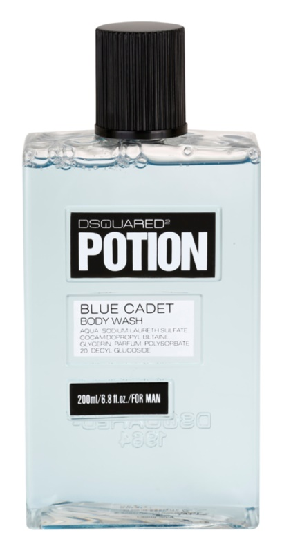 Dsquared2 Potion Blue Cadet żel pod prysznic dla mężczyzn 200 ml
