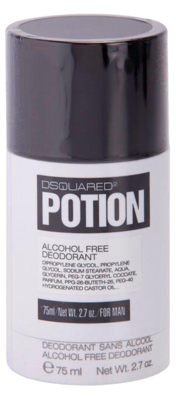 Dsquared2 Potion Αποσμητικό σε στικ για άνδρες 75 μλ