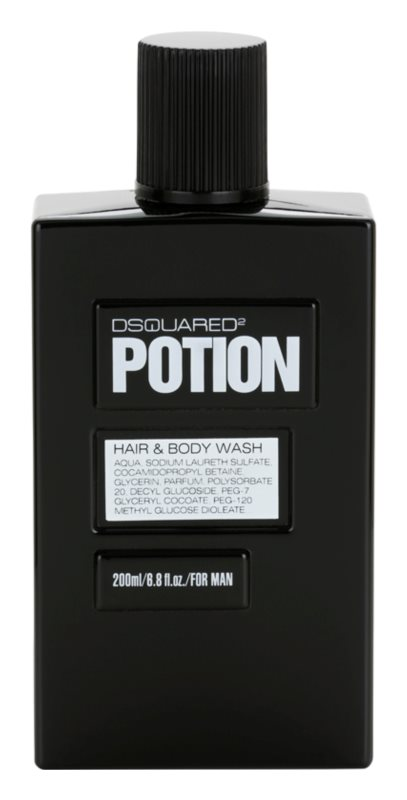 Dsquared2 Potion gel doccia per uomo 200 ml