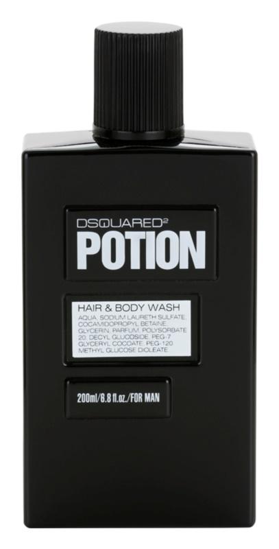 Dsquared2 Potion gel douche pour homme 200 ml