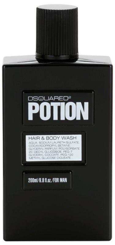 Dsquared2 Potion gel za prhanje za moške 200 ml