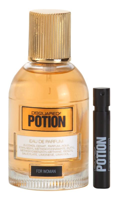 Dsquared2 Potion eau de parfum pentru femei 50 ml