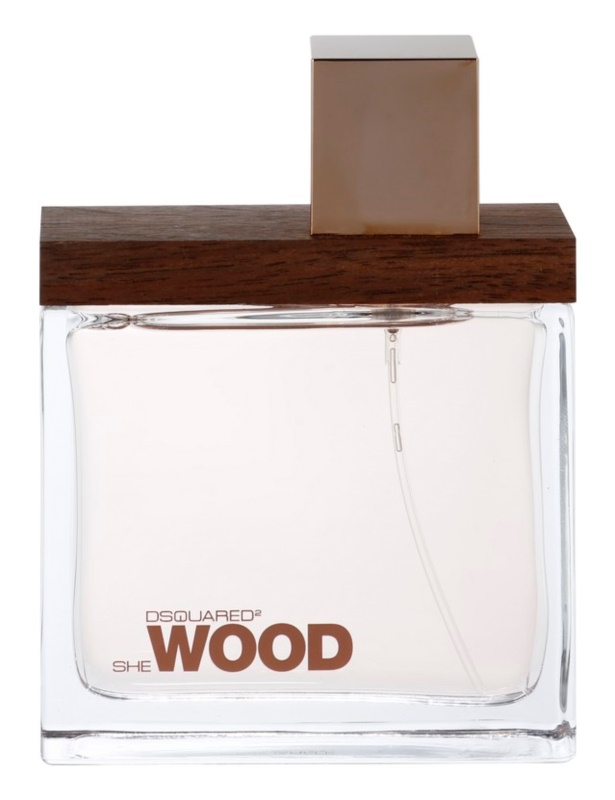 Dsquared2 She Wood Eau de Parfum για γυναίκες 100 μλ