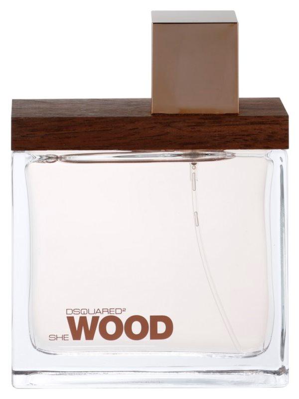 Dsquared2 She Wood Eau de Parfum για γυναίκες 100 μλ