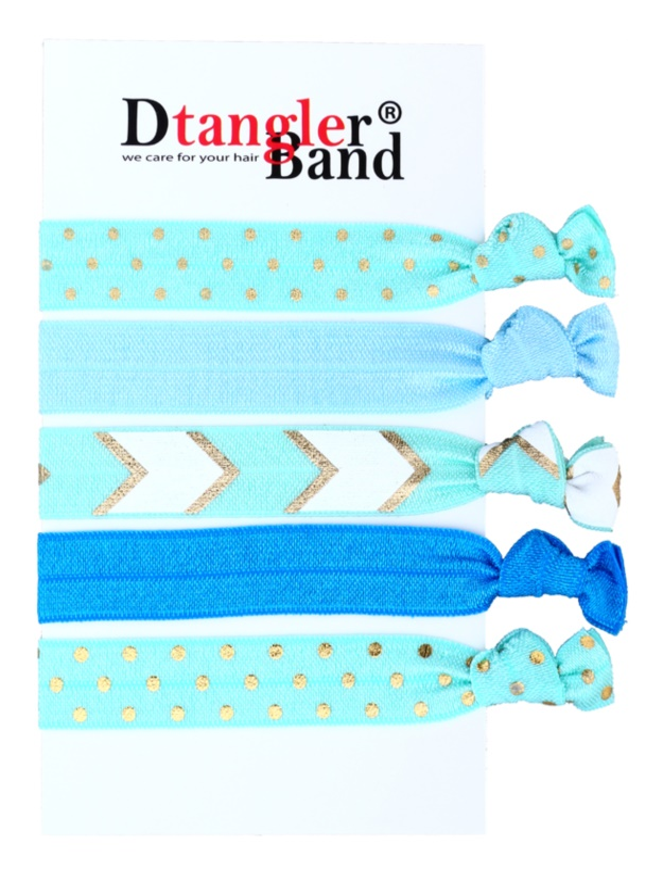 Dtangler DTG Band Set gomas para cabello 5 uds