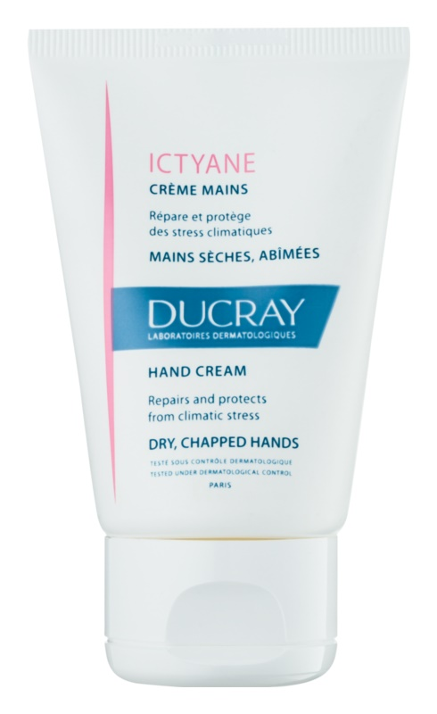 Ducray Ictyane Moisturizing Cream for Dry and Chapped Hands