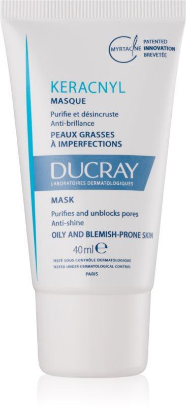 Ducray Keracnyl čistiaca maska pre pleť s nedokonalosťami