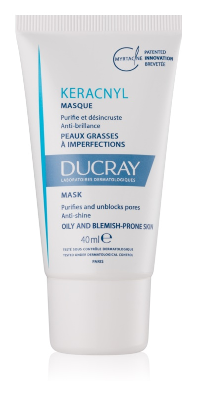 Ducray Keracnyl Cleansing Mask For Skin With Imperfections