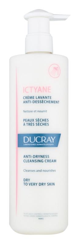 Ducray Ictyane crema pentru curatare pentru pielea uscata sau foarte uscata