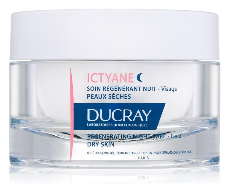 Ducray Ictyane soin de nuit régénérant pour peaux sèches