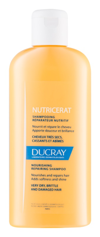 Ducray Nutricerat Nourishing Shampoo for Reconstruction and Strengthen Hair