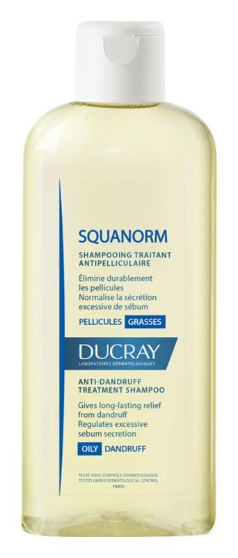 Ducray Squanorm šampon proti mastnemu prhljaju