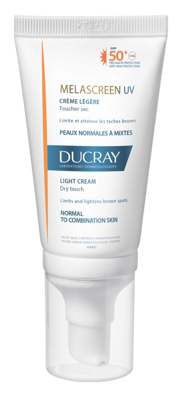 Ducray Melascreen Light Sunscreen against Age Spots SPF50+