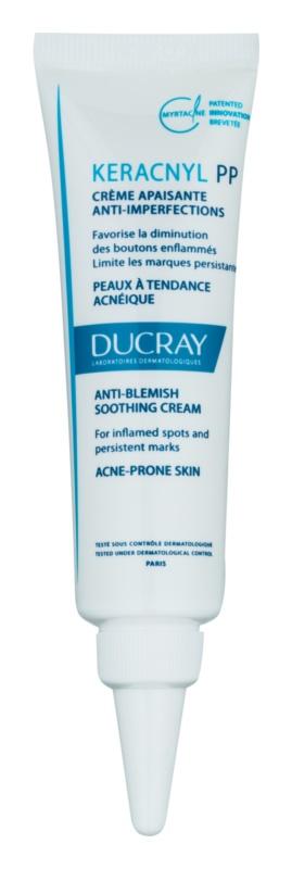 Ducray Keracnyl die beruhigende Creme gegen die Unvollkommenheiten der Haut