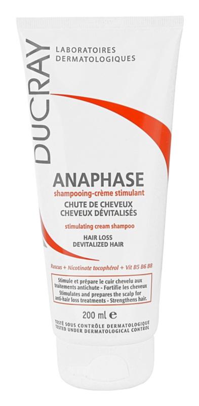 Ducray Anaphase champú estimulante textura crema anticaída del cabello