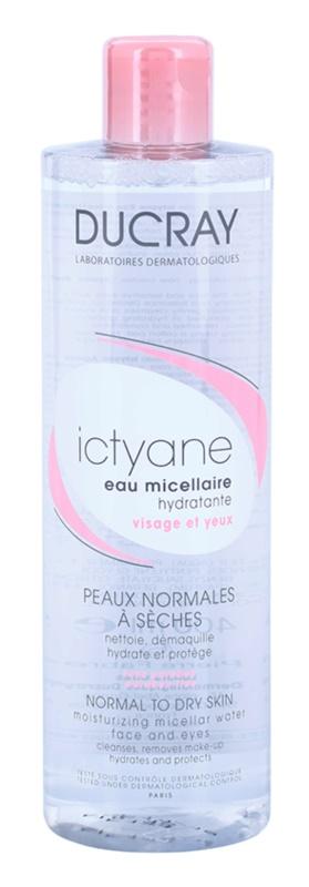 Ducray Ictyane Hydraterende Micellair Water  voor Normale tot Droge Huid