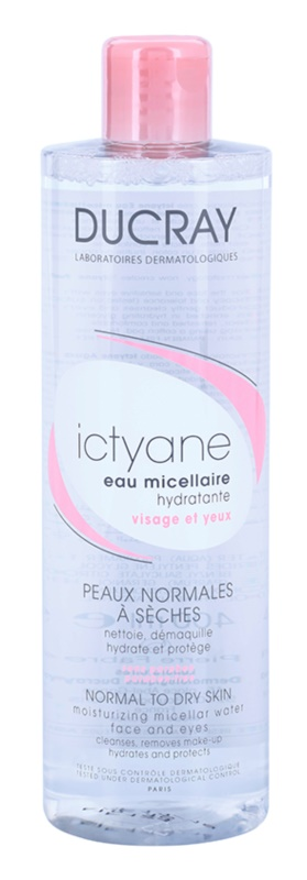 Ducray Ictyane vlažilna micelarna voda za normalno do suho kožo