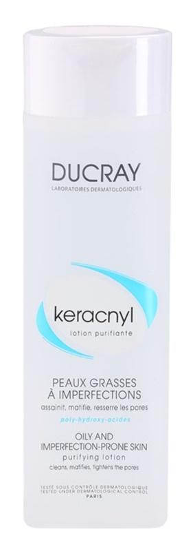 Ducray Keracnyl čistiaca voda pre mastnú a problematickú pleť