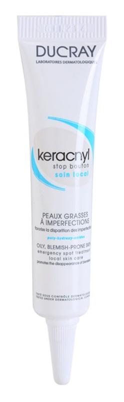 Ducray Keracnyl soin local anti-imperfections de la peau à tendance acnéique