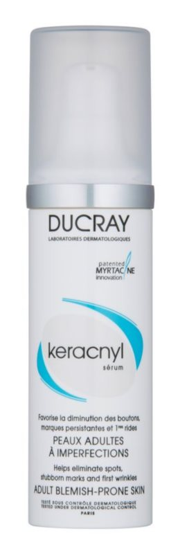 Ducray Keracnyl Cream Serum For Skin With Imperfections